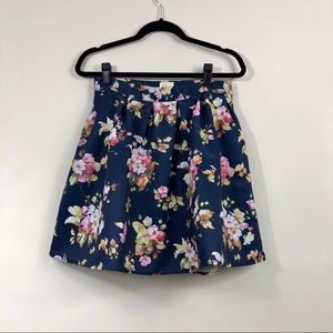 Modcloth Myrtlewood of California floral skirt